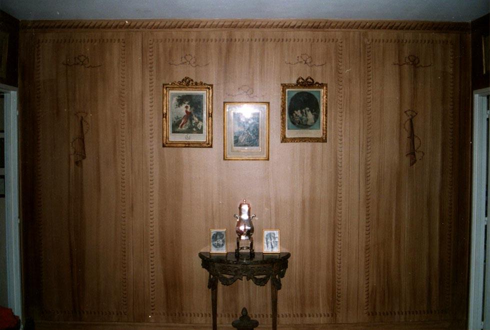 d cor faux bois sur papier craft cocepia peinture trompe l 39 il en r gion centre r novation. Black Bedroom Furniture Sets. Home Design Ideas