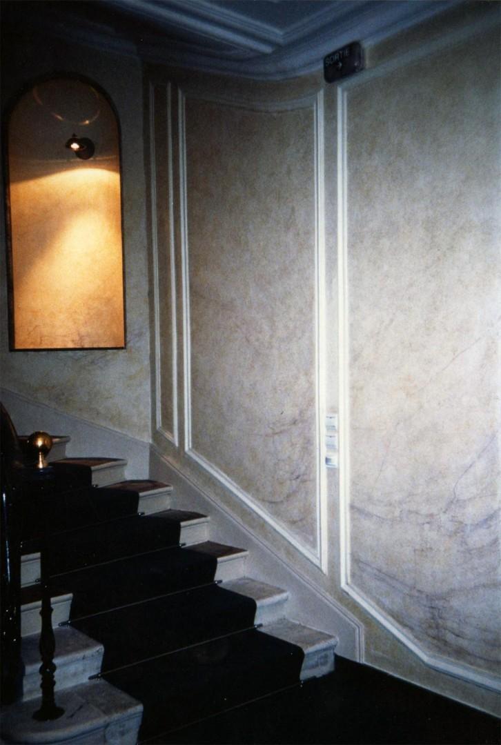 marbre l 39 italienne paris cocepia peinture trompe l. Black Bedroom Furniture Sets. Home Design Ideas